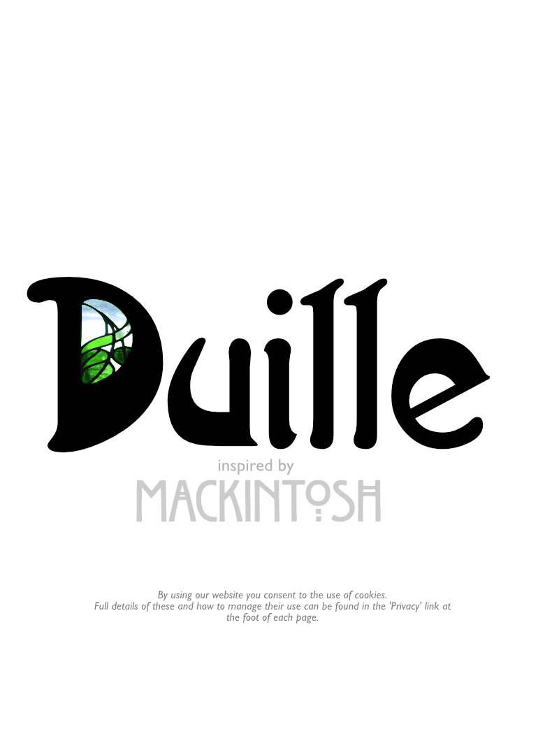 Duille - inspired by Mackintosh